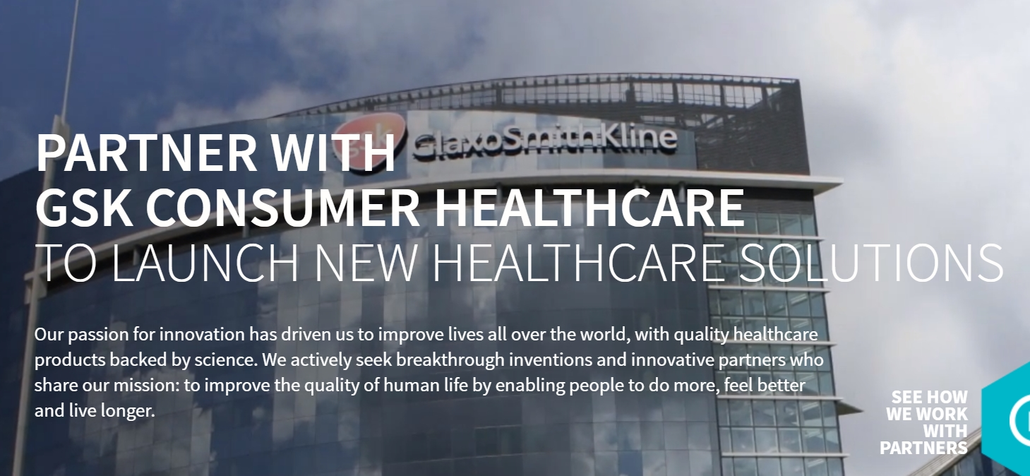 GSK Innovation Consumer Healthcare - Current needs for